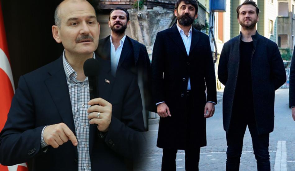 Bakan Süleyman Soylu'dan Çukur dizisine sert eleştiri!