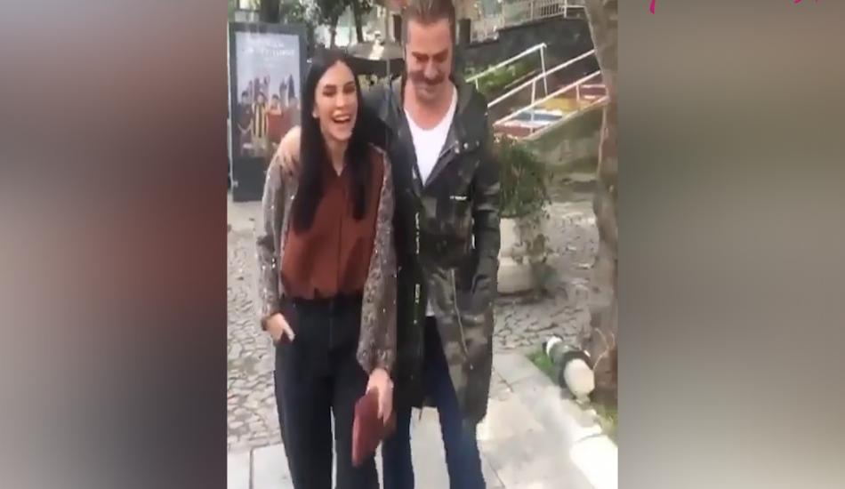 Engin Altan Düzyatan ve eşi Neslişah yürüyüş yaparken görüntülendi!