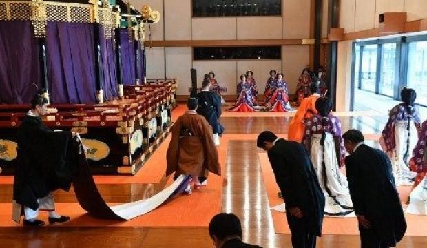 Japonya'da yeni dönem! İmparator resmen tahta çıktı
