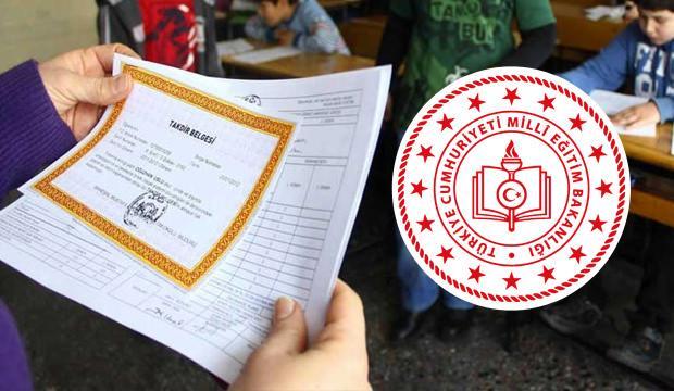 Yeni öğrenci karneleri nasıl? Milli Eğitim Bakanlığı'ndan açıklama geldi