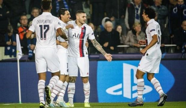 PSG Club Brugge'ı dağıttı!
