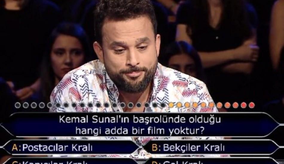 Yarışmacının cevabı herkesi çıldırttı! Kim Milyoner Olmak İster'e damga vuran Kemal Sunal sorusu