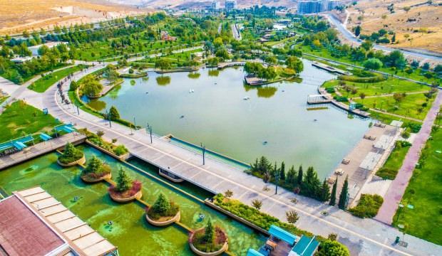 Görenleri hayran bırakıyor! İşte Türkiye'nin en büyük Millet Bahçesi