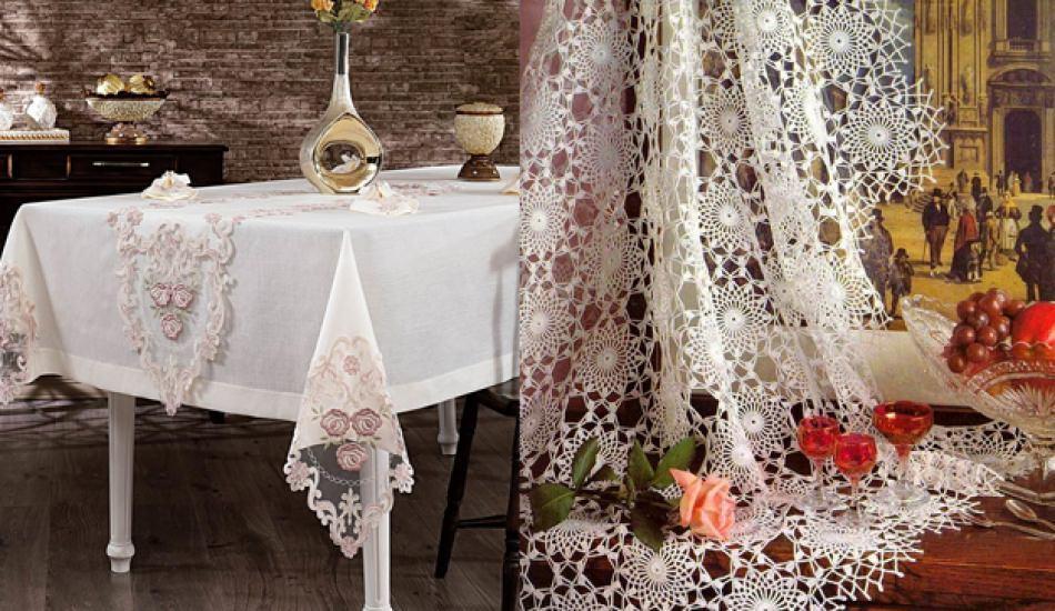 En güzel masa örtüleri evde nasıl dikilir?
