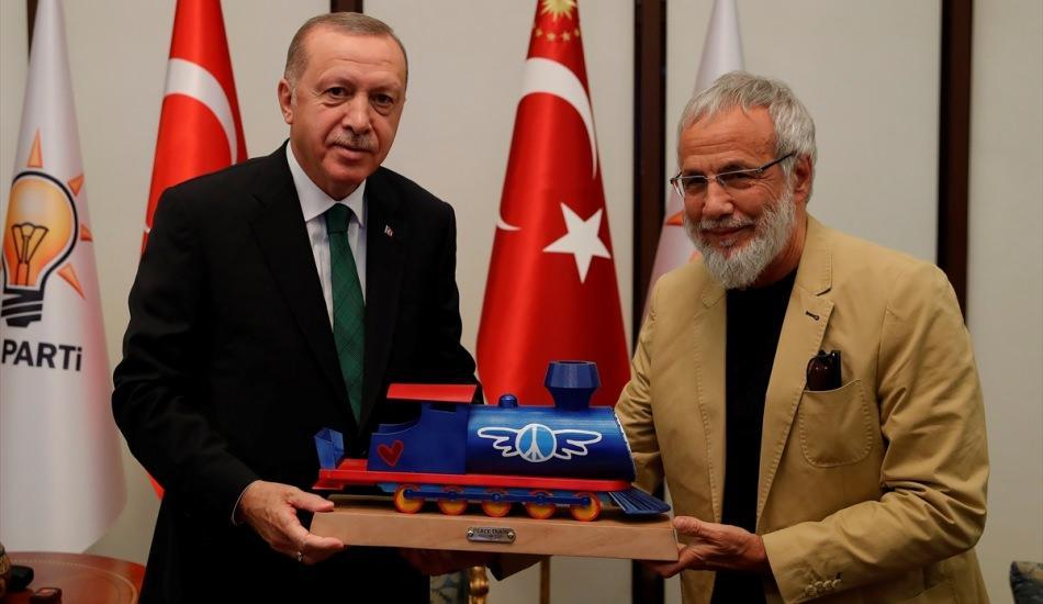 Cumhurbaşkanı Erdoğan, ünlü sanatçı Yusuf İslam'ı kabul etti!