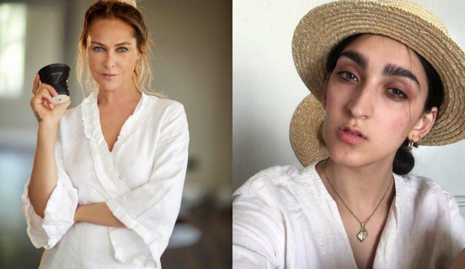 Hülya Avşar Gucci'nin yeni yüzü Armine'yi beğendi!