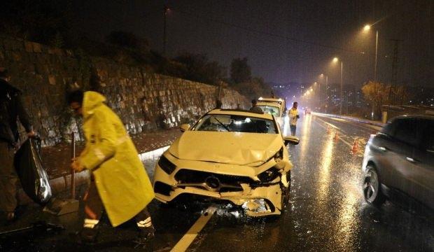 MHP'li İl Başkanı kaza yaptı