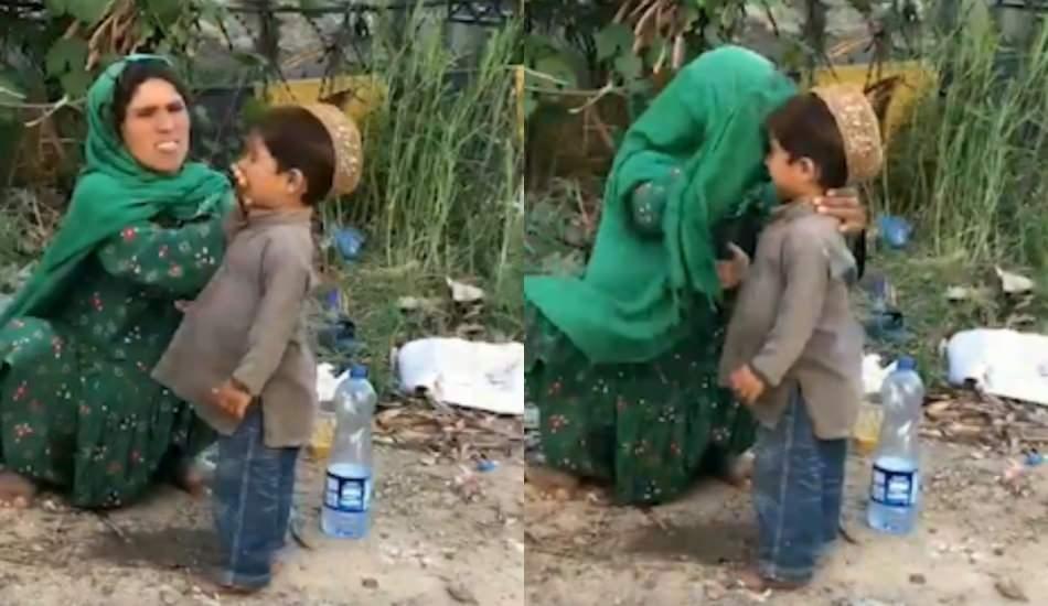 Oğlunun fotoğrafını çekmek istediler! Bakın annesi ne yaptı...