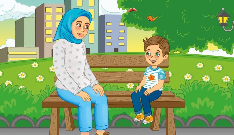 Meraklı Çocuk İle Annesi:  'Kandilleri Yakan Kim?'