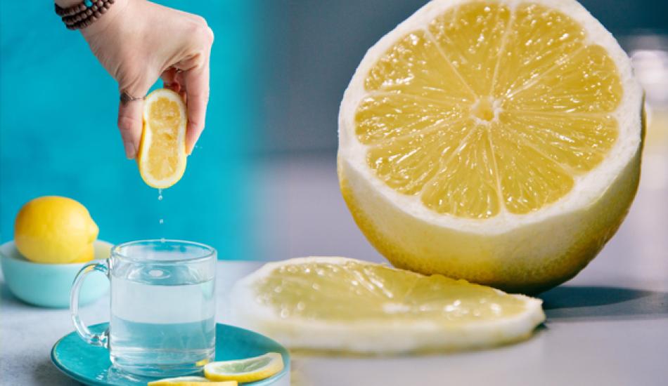 Sabahleyin aç karna limonlu su içmek zayıflatır mı? Zayıflamak için limonlu su tarifi