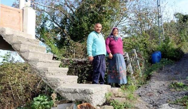 53 santimetre için evinin merdiveni yıkılacak