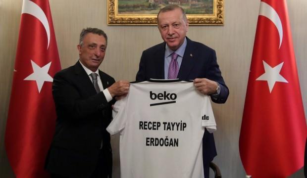 Ahmet Nur Çebi'den Cumhurbaşkanı Erdoğan'a ziyaret