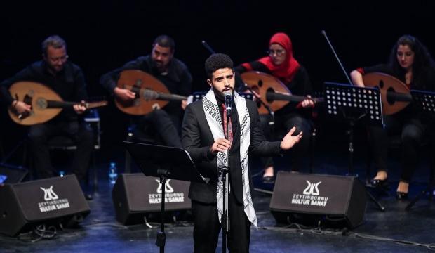 Al-Kamandjati 'kardeşlik ezgileri'ni İstanbul'da seslendirdi