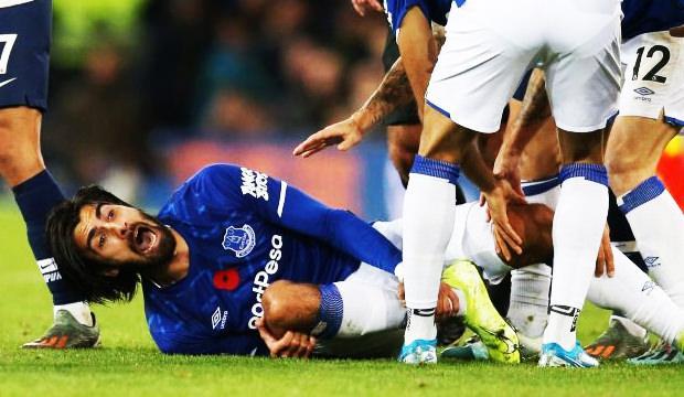 Ayağı kırılan Andre Gomes için açıklama!