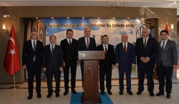 Kurtulmuş: Trump'la görüşmede Türkiye'nin hakkı sonuna kadar korunacak