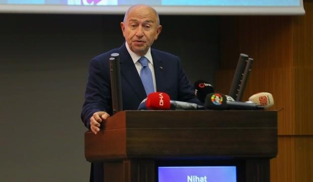 Nihat Özdemir'den Başakşehir'e kutlama