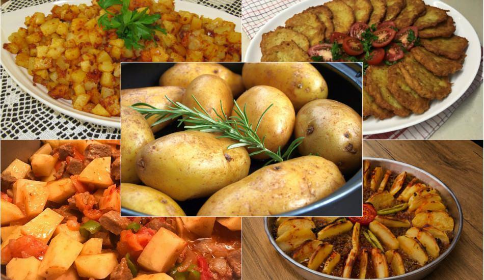 Patatesle en kolay hangi tarif yapılır? Patatesle yapılan en lezzetli ve pratik yemek tarifleri