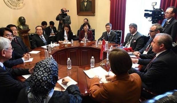 Şentop'tan MIKTA parlamento başkanlarına Meclisin 100. yılı için davet