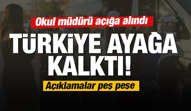 Aksaray'daki okulda yaşanan olay! Öğretmen açığa alındı