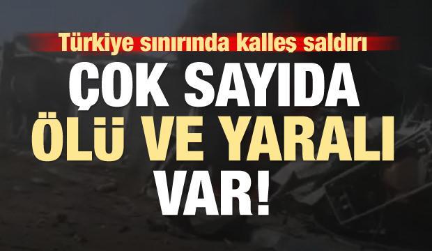 Tel Abyad'da kalleş saldırı! Çok sayıda ölü ve yaralı var