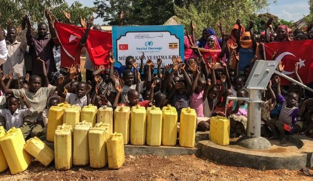 Vuslat Derneği Asya ve Afrika'da 1228 su kuyusu açtı