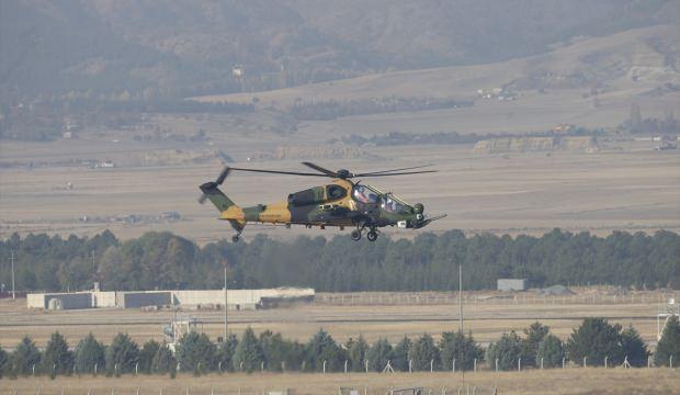 Yeni ATAK helikopteri göreve başladı
