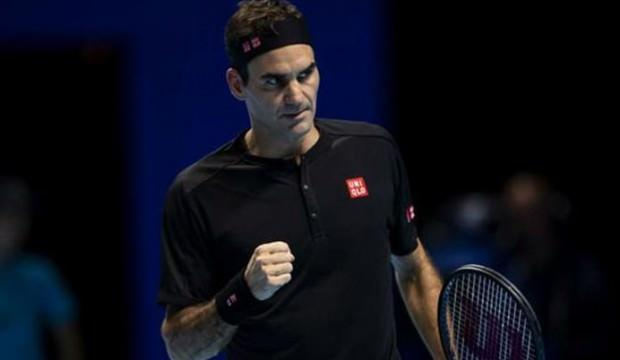 Djokovic'i yenen Federer yarı finalist oldu
