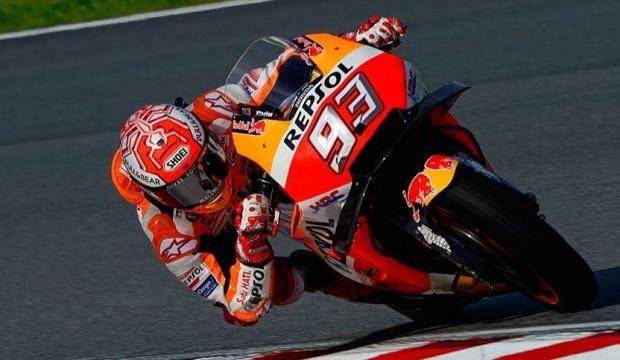 İspanya'da kazanan Marc Marquez