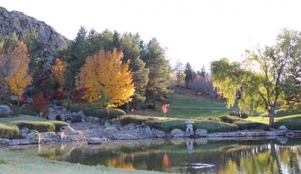 Japon Bahçesi'nde sonbahar güzelliği yaşanıyor