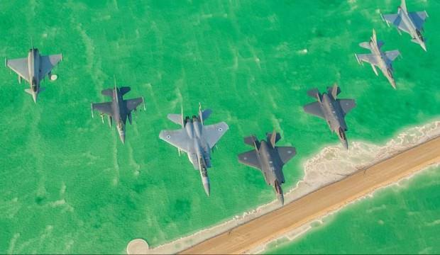 F-35'ler ilk kez kullanıldı! İsrail'de ilginç tatbikat