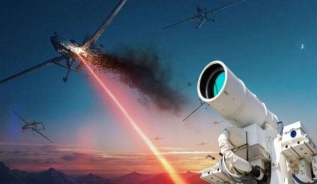 İHA'ları yok edecek lazer silahı ortaya çıktı
