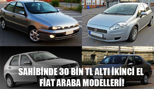 30 Bin Tl Alti Ikinci El Fiat Araba Modelleri Iste Tam Liste Otomobil Haberleri