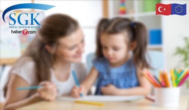 Annelere aylık 1300 TL çocuk bakım desteği başvuruları devam ediyor!