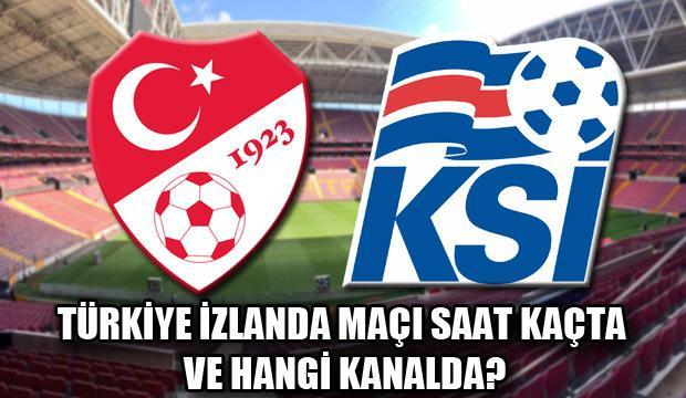Türkiye İzlanda maçı saat kaçta ve hangi kanalda? Milli takım muhtemel 11'ler?