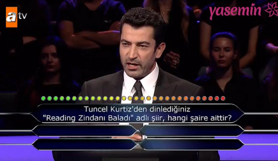 Kenan İmirzalıoğlu'nu duygulandıran Tuncel Kurtiz sorusu!