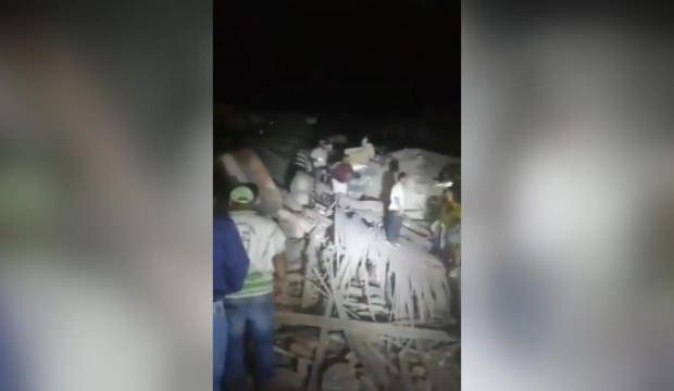 Kolombiya'da karakolda patlama! Ölü ve yaralılar var