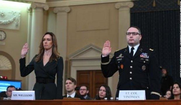 Trump'ın azil soruşturmasının halka açık üçüncü günü sona erdi