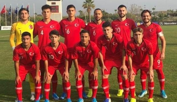 U19 Milli Takımımız 3'te 3 ile Elit Tur'a yükseldi!