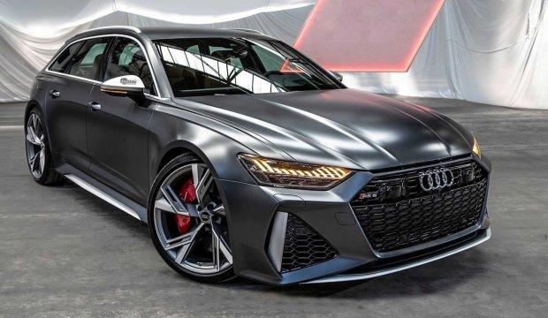 2020 Audi RS6 Avant daha konforlu ve hızlı geldi