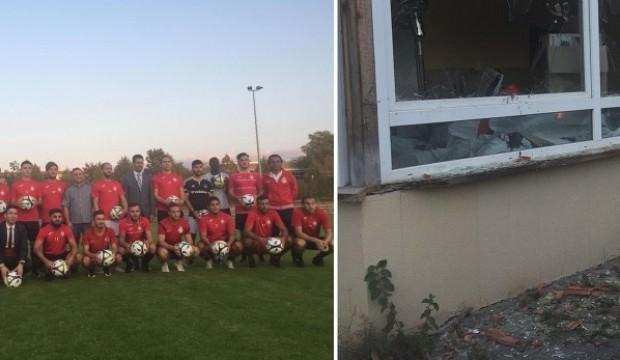 Almanya'da Türk kulübüne saldırı