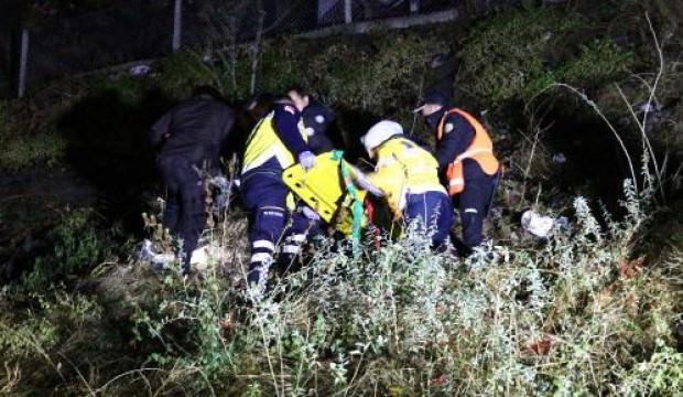 Ankara Kalesi'nden düşen kız çocuğu ağır yaralandı