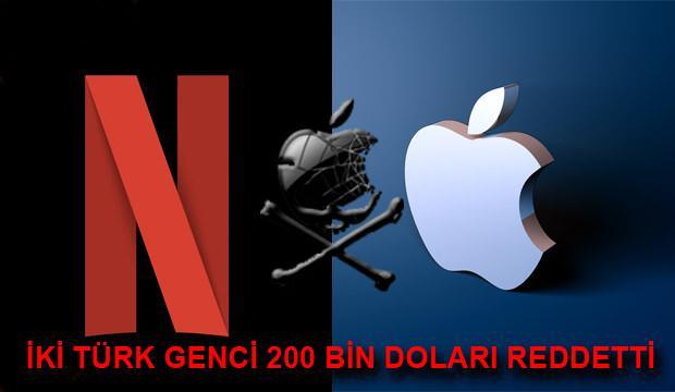 Apple ve Netflix'in açığını bulan iki Türk genci 200 bin dolarlık ödülü reddetti