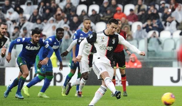 Juventus evinde Sassuolo'dan çelme yedi