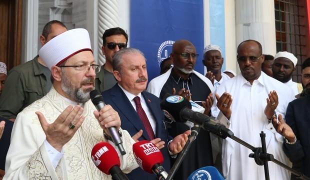 Mustafa Şentop, Cibuti 2. Abdülhamid Han Camii'ni açtı