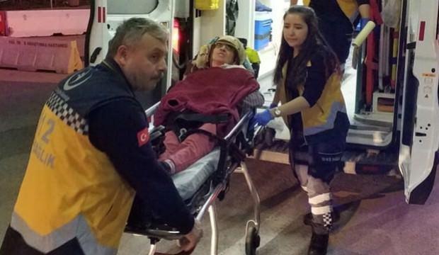 20 yıllık eşini önce dövdü sonra da kaynar suyla yaktı