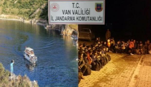 41 kaçak göçmen yakalandı, 14 organizatör gözaltına alındı