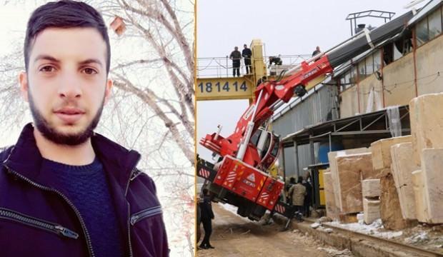 Sivas'ta genç işçinin feci ölümü!