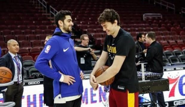 Furkan'lı 76ers, Cedi'li Cavaliers'ı mağlup etti