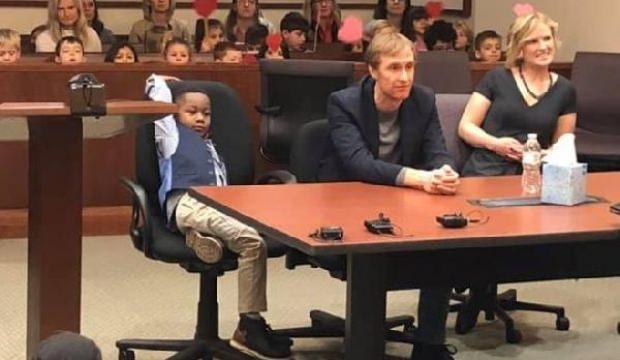 ABD'de dikkat çeken detay! 5 yaşındaki çocuk mahkemeye çıktı ve...