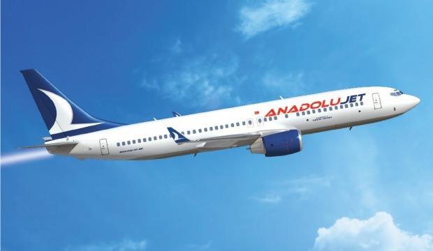 AnadoluJet'ten bilet kampanyası:  Yüzde 40 indirim